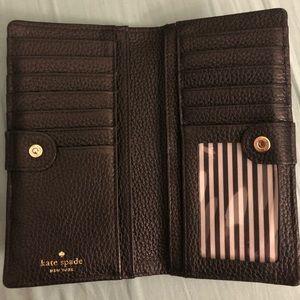 kate space bi-fold wallet